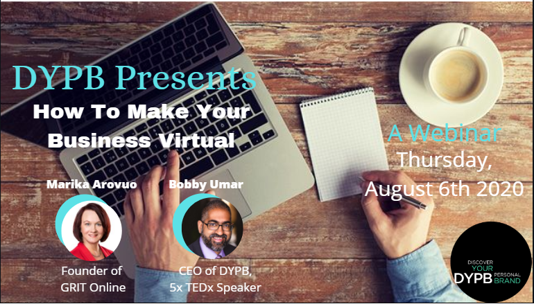 DYPB Webinar – How to Make Your Business Virtual